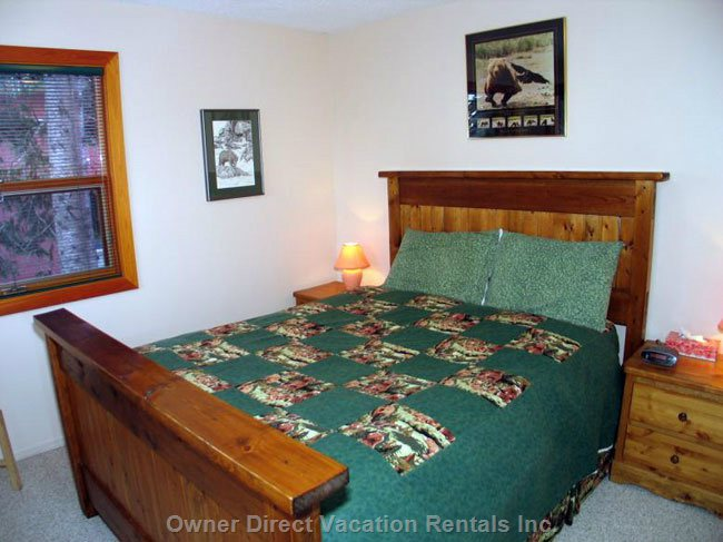 2nd Bedroom has a Queen Bed