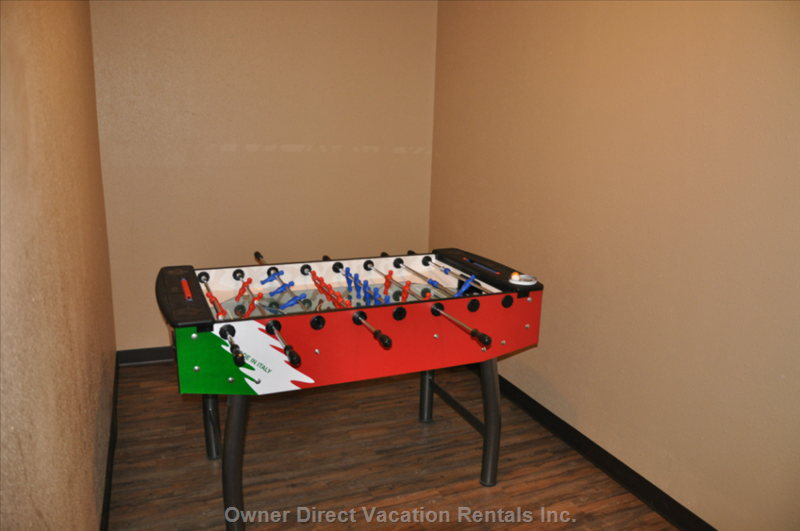 Building Games Room Fooseball