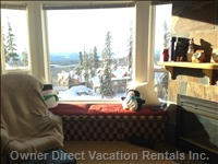 View of the Magnificent Monashee Mountains from your Window Seat