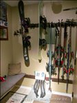 Ski and Snow Board Racks with Two Station Boot Warmer. Ski Locker Also Located Just down the Hall.