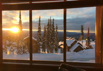 Next to Bullet Chair & Village + Beautiful Monashee Mountain View