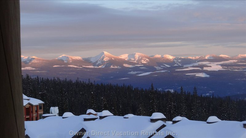 Fantastic View of Monashee Mountains....This one with a Zoom.
