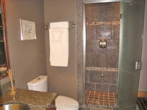 Master Bedroom Ensuite with Steam Shower