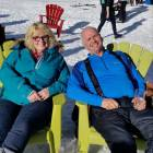 Owners Cheri & Les Relaxing after a Good Day on the Slopes