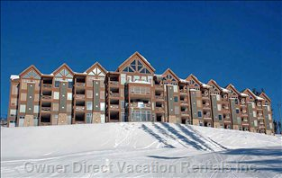 Building Exterior - Legend 7 Located on Ground Level. Walk out your Front Door onto the the Ski Run
