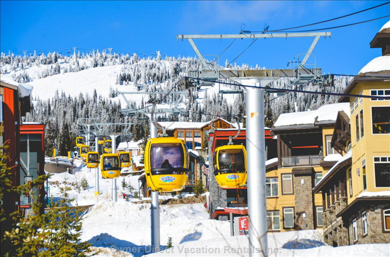 The Best Ski in/out 3 Bedroom Condo in Big White with Private Hot Tub, ID# 247581
