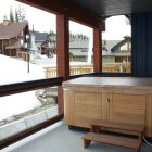 Private Hot Tub - Enjoy Sitting in the Private Hot Tub after a Fun Day on the Slopes.