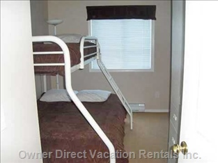 This is a Three Bedroom Unit with an Additional Hide-a-bed.