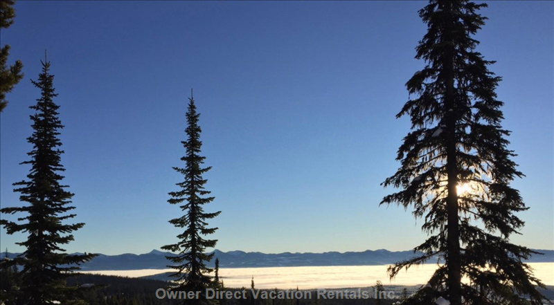 View from Front Deck - another Beautiful Monashee Morning!