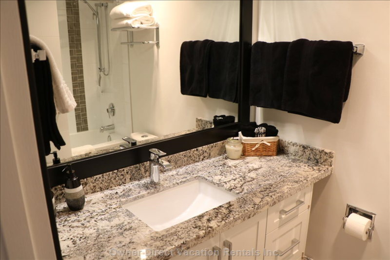 Our Newly Renovated Bathroom.