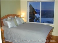 Master Bedroom has Monashee Mountains View