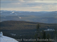 View out Living Room Window 7 - everyone'S Favourite. Sit and Watch the Monashee Mountains Turn Purple as the Sun Sets.