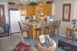 Prepare Gourmet Meals in the Fully Functional Kitchen..  Please Note the Counter/ Flooring has all Been Recently Updated!!