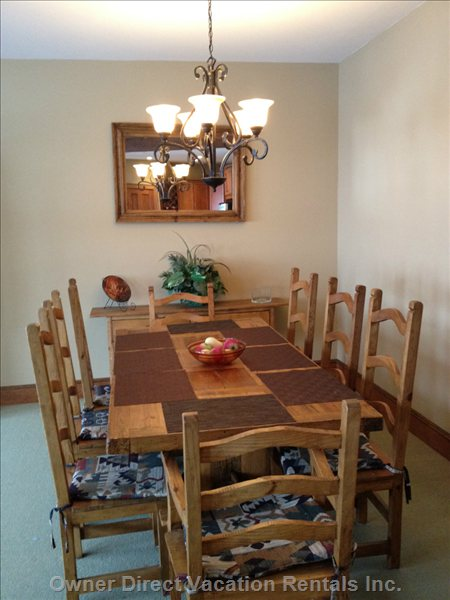 Dining Room, Seats 8