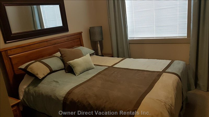 3 Bedrooms all with Queen Size Beds and New Mattresses and Bedding.