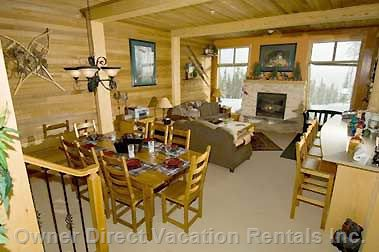 Open Concept Living Right on the Ski Hill
