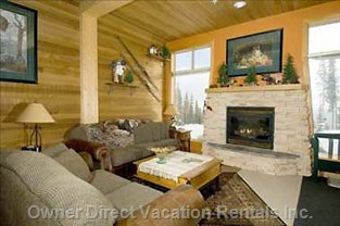 Cozy up to your Fire and Watch the First Skiers