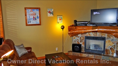 Living Room with Lcd Tv., Satellite with Music Channels, Dvd Player.