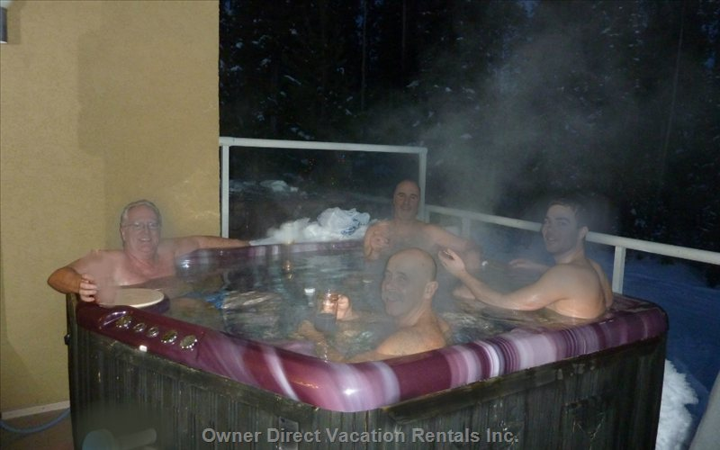 Private 8-Person Hot Tub