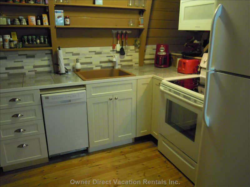 Full Kitchen with Dishwasher and Lots of Extras.