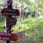 The Hiking Trails on the Ranch are Marked for your Convenience.