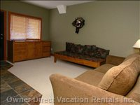 Family Room with TV and Playstation 2