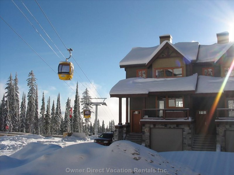 3 floors of luxury accommodation at Big White Ski Resort. ID 42769