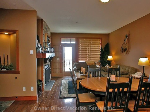 Great Room with Views over the Monashee Mountains