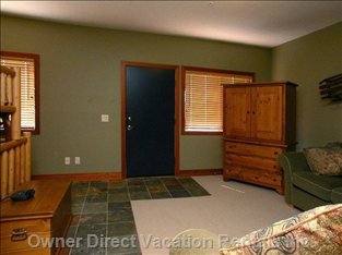 Family Room - with TV, Playstation 2 and Bathroom