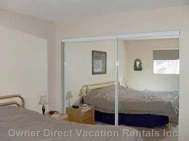 Master Bedroom with 2 End Tables & Dresser / En Suite