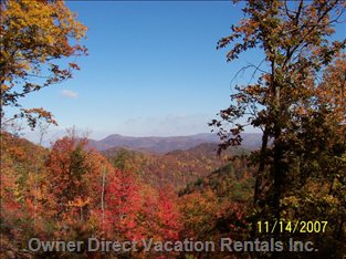 Fall Panoramic View - Look at this Breath-taking Foliage of the Fall.  Guaranteed Enjoyment from the Outdoor Enthusiast.