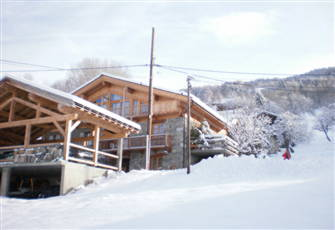 Chalet Deluxe on the Slope : Les Arcs Paradiski