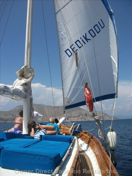 Pleasure of Sailing on the Gulet in Turkey