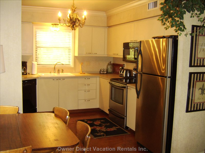 Kitchen Stainless Steel Appliances
