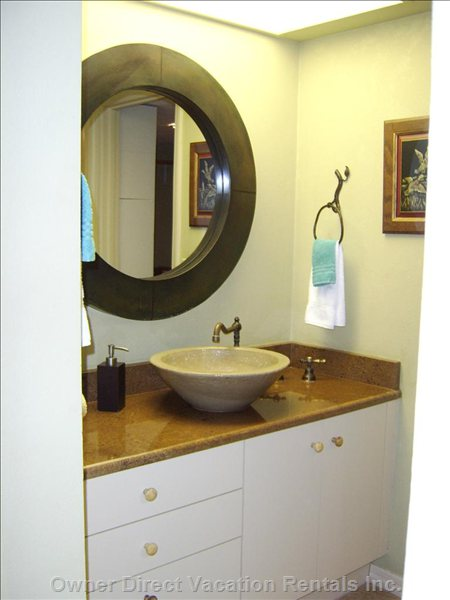 Master Bathroom Sink Area