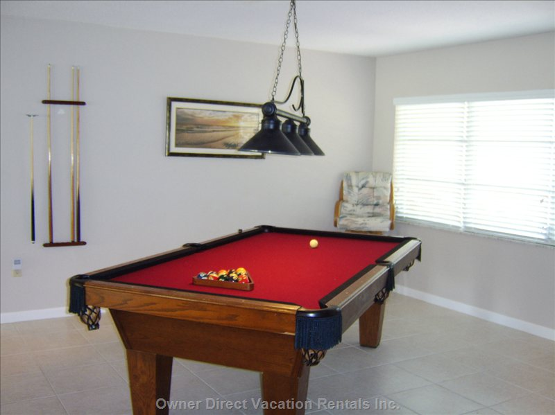 Billiards - Pool Table Room