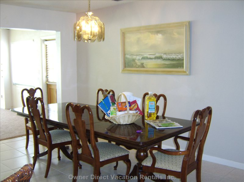 Dining Room - Seats 6 to 10