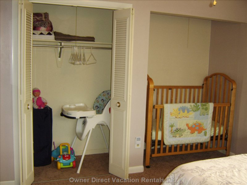 Family Bedroom - Crib - High Chair Etc