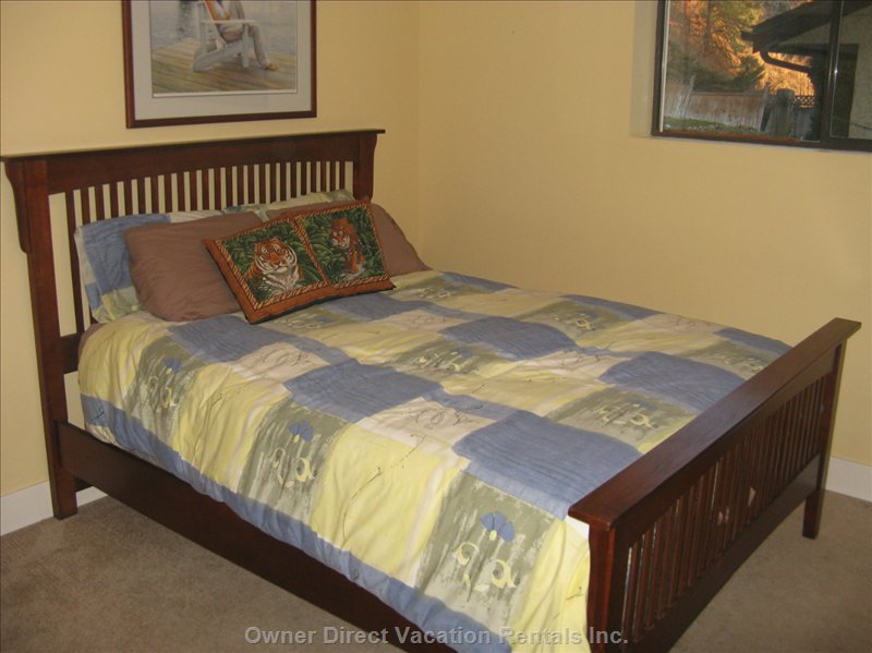 Third Bedroom with Queen Sized Bed