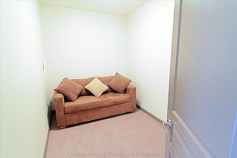 Den with Sofa Bed