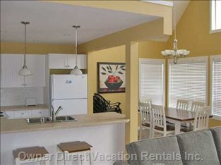Kitchen & Dining Areas