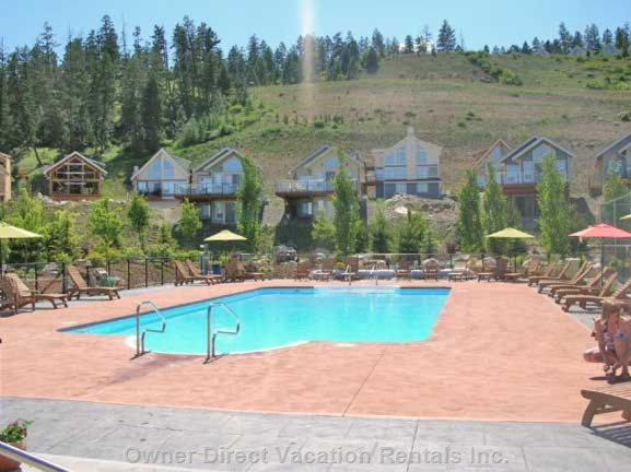 Central Outdoor Heated Pool