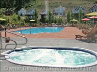 Central Outdoor Heated Pool & Hot Tub(S)