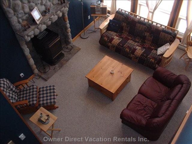 Livingroom from Upstairs