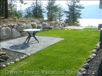 Quiet Backyard Sitting Area - Very Private Backyard Backing onto Forest with Lakeview