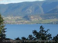 View of Okanagan Lake - from Owners Private Upper Deck