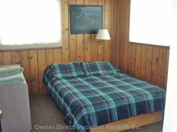 Large Bedroom`Queen and Room for Double Air Mattress on Floo