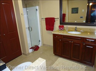 Large Second Bathroom with Shower