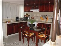 Fully Equipped Kitchen with 2nd Dining Table