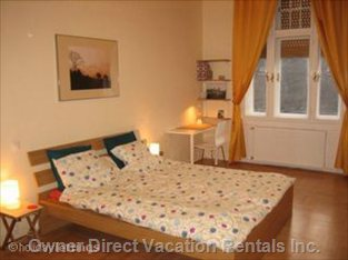 Bedroom  1 - Large,Quiet Double Bedroom with Chest of Drawers and Large Wardrobe